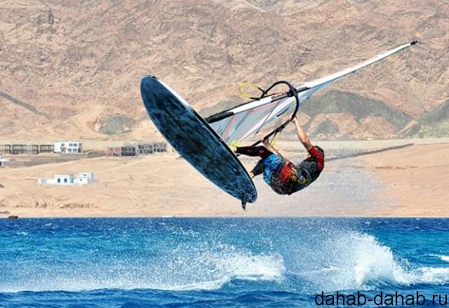 Виндсерфинг в Дахабе Египет