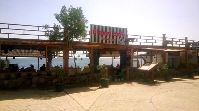 Пляжное Planet Cafe на Лайт Хаусе Дахаб Египет