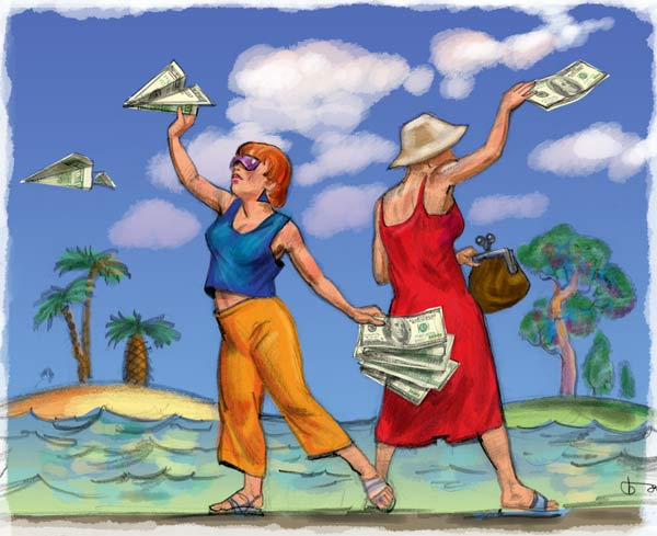 сколько денег взять с собой в Египет