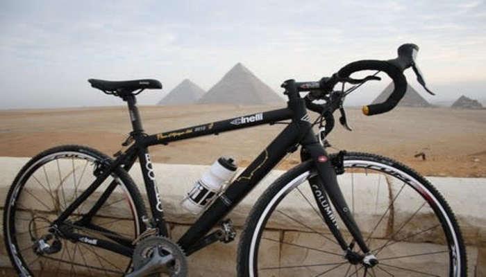 Велосипедист из Египта побил рекорд Гиннесса