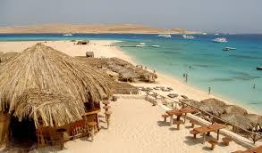 Пляжи Египта с белым песком