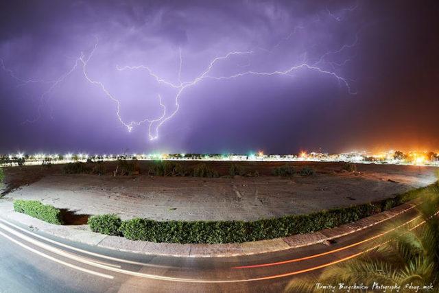 Дождь в Дахабе